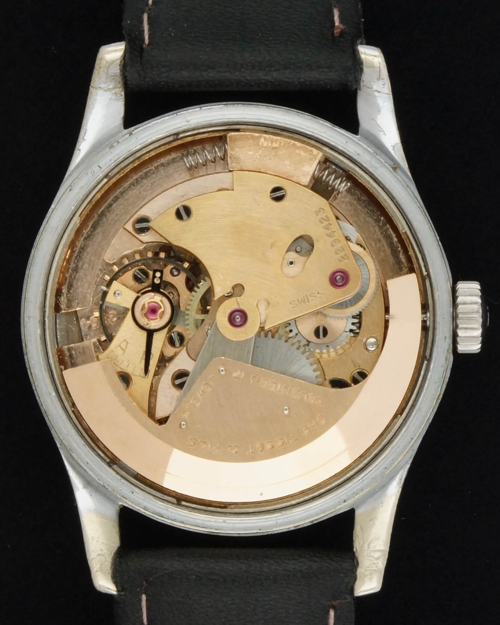 tissot automatic 1950 la clinique horlog re service et. Black Bedroom Furniture Sets. Home Design Ideas