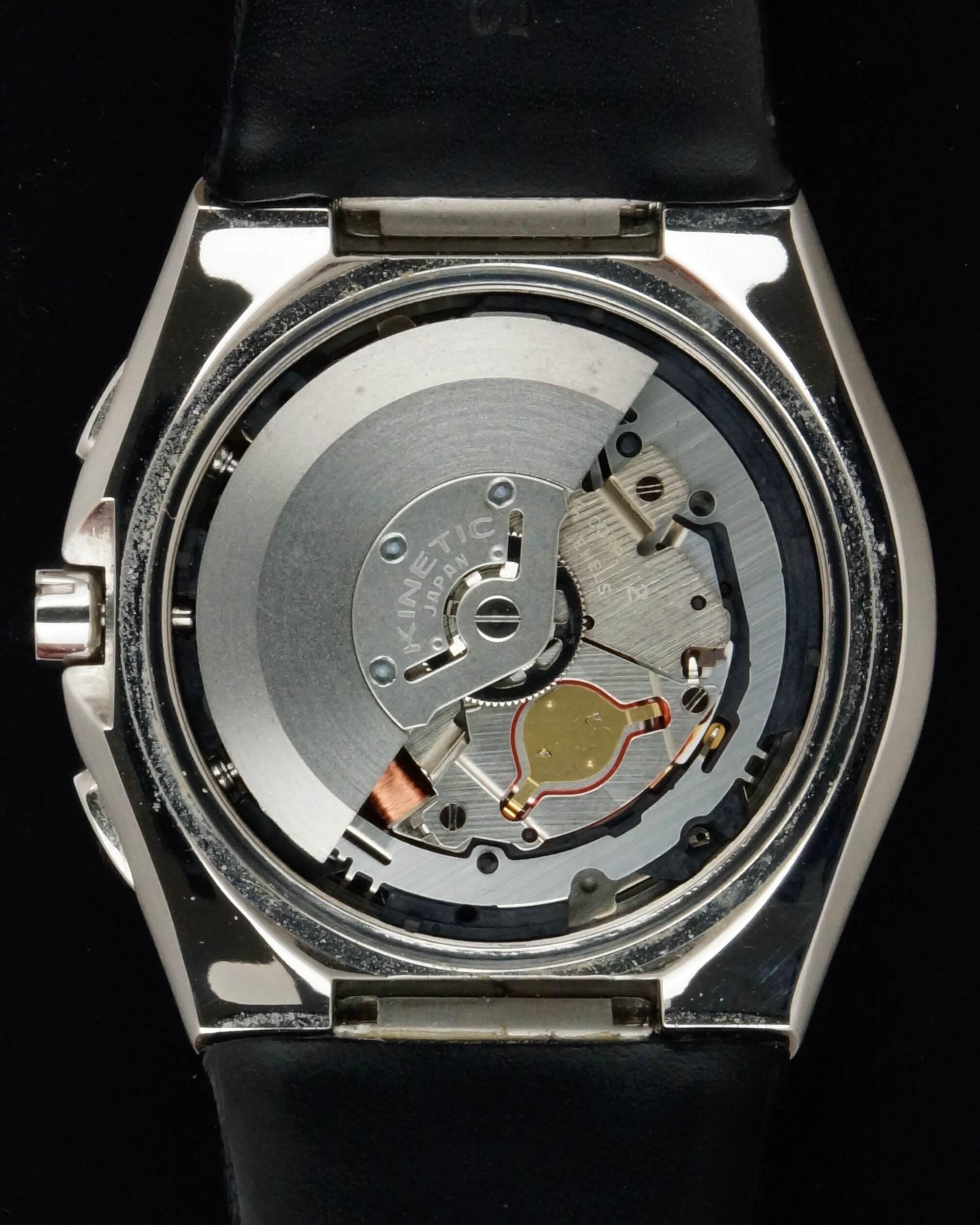 seiko arctura kinetic chronograph 2006 la clinique horlog re service et vente de montres. Black Bedroom Furniture Sets. Home Design Ideas